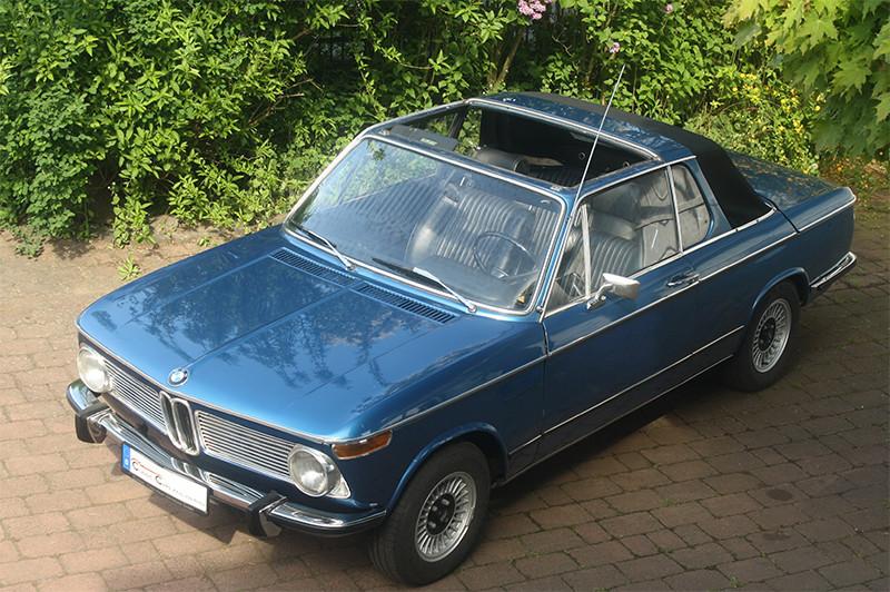 BMW 2002 Baur Cabrio, Bj. 1972