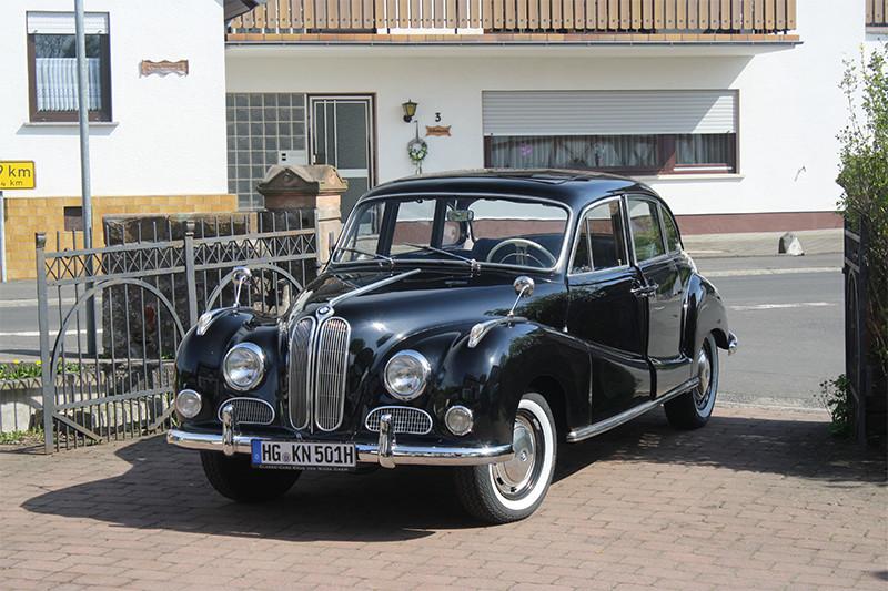 "BMW 501 ""Barockengel"", Bj. 1960"