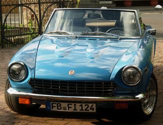 Fiat 124 Cabrio, Bj. 1976
