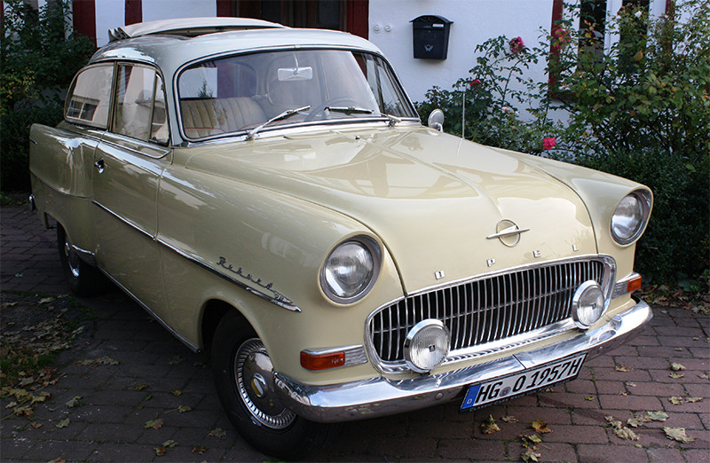 Opel Olympia Rekord, Bj. 1957