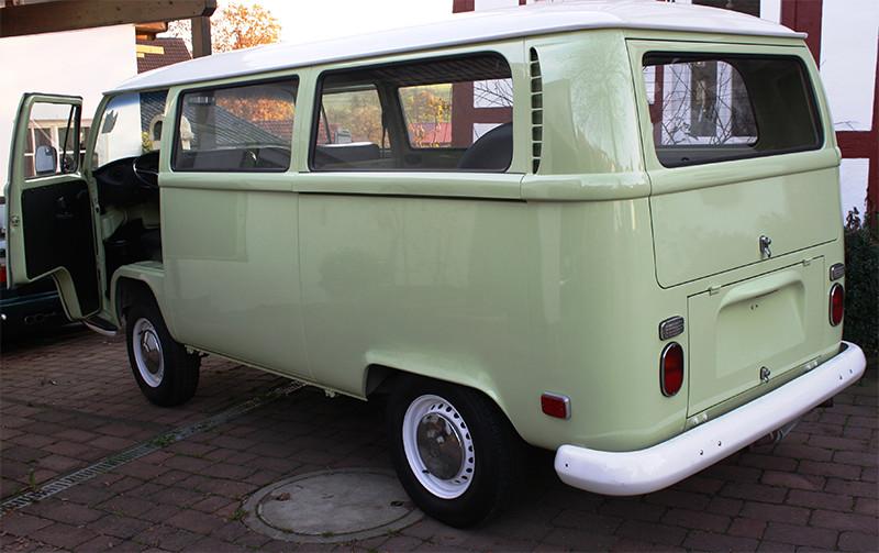 VW Bulli Green 02